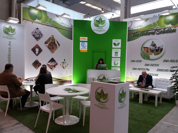 Stand European Natural Additives en Figan 2017